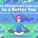 Wellness On The Blockchain