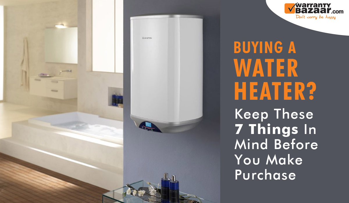 Buying a Water Heater