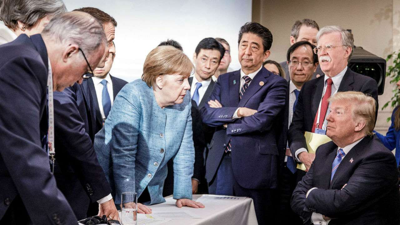 The Mean Girls of the G7: How May, Merkel and Trudeau's Temper Tantrums at the G7 Conference relate more to a 1990's high school movie than to modern global geopolitics.