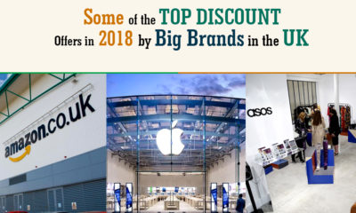 Top Discount Offers in 2018 by Big Brands in the UK