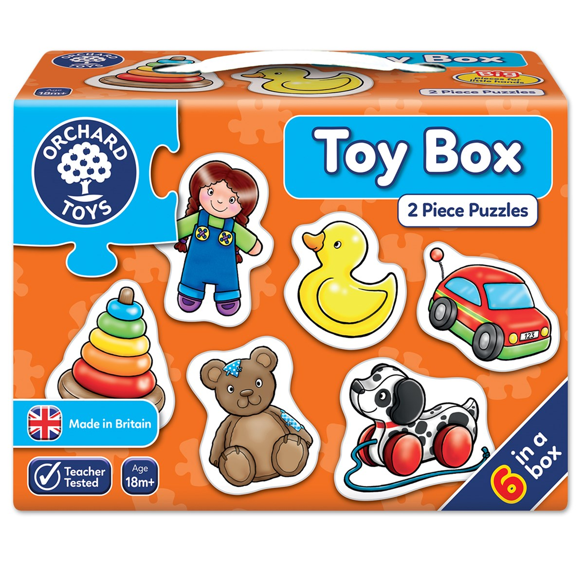 Toy Box From Spare Cardboard