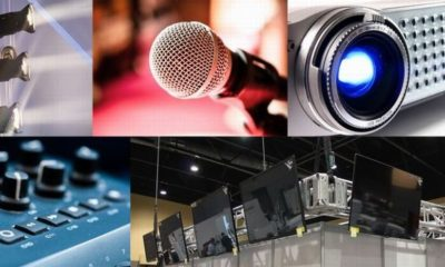 Audio Visual Equipment hire London