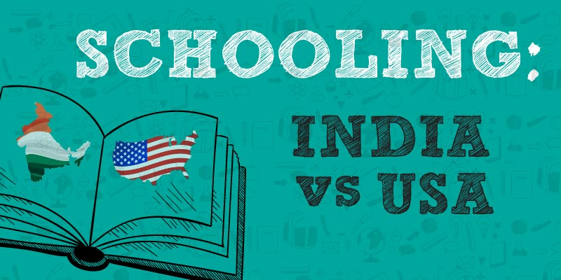 US Education different from Indian Education