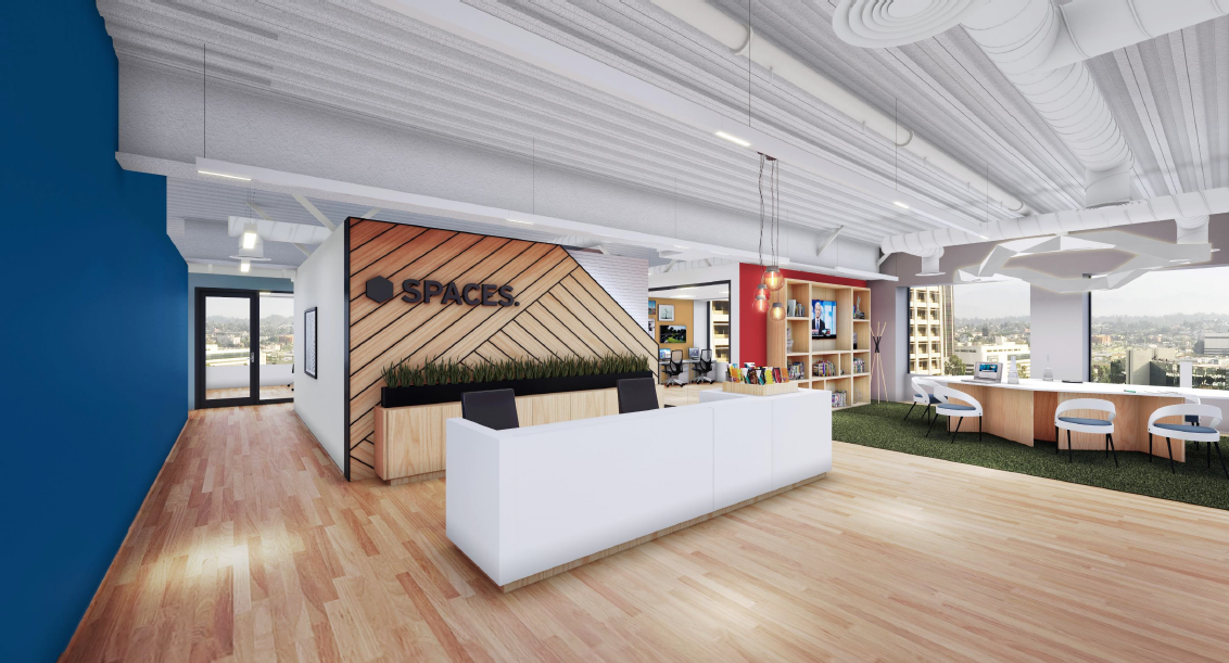 SPACES: Redefining How Work is Done