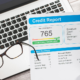 Why are credit reports beneficial for businesses?
