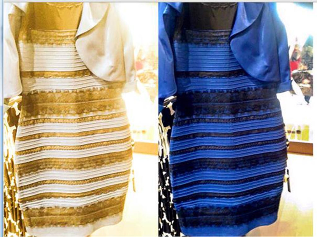 The Colored Dress