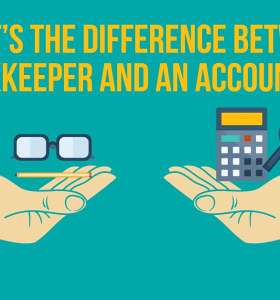 Key Differences Between Bookkeepers And Accountant