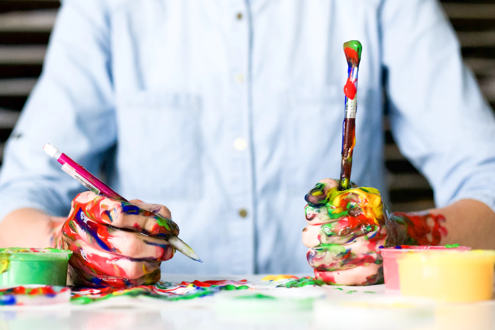 The Art of Contrasting Colors in Your Marketing Collateral