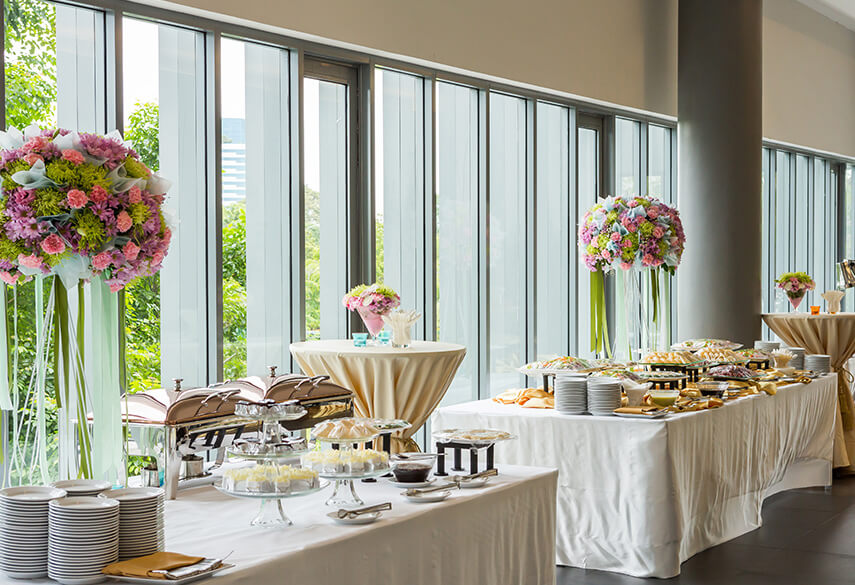 Art of Buffet Setup and How you can Master it!