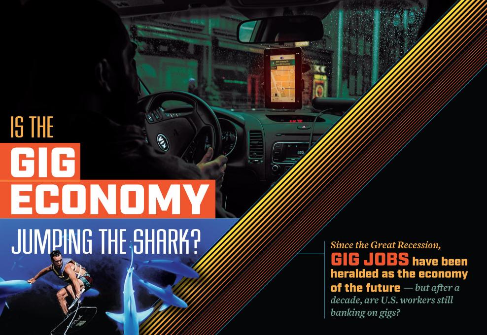 Has The Gig Economy Finally Jumped The Shark?
