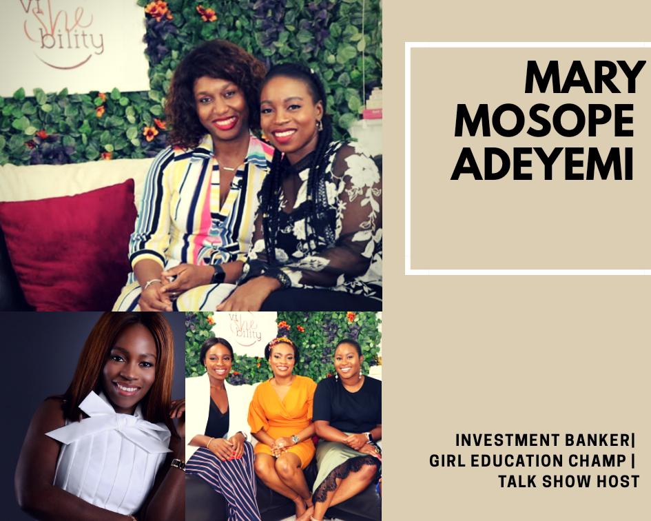 Mary Mosope Adeyemi