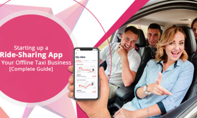 Ride sharing app for your traditional taxi business: Business models & features