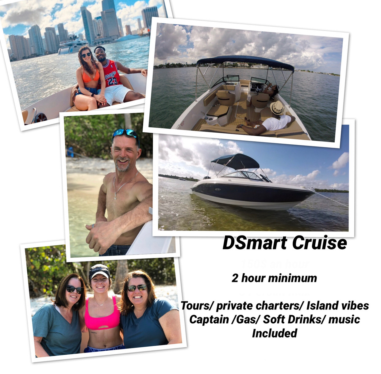 Go out and discover Miami with DSmart Cruise!