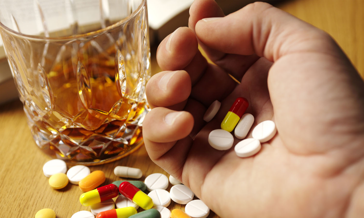 Three ways alcohol and drugs may be affecting your well being even if you're teetotal - and what to do about it